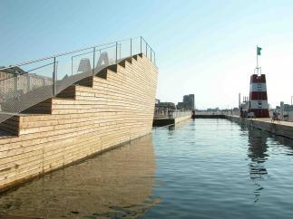 Photo of Copenhagen Harbour Bath by BIG and JDS. Photo credit: JDS Architects