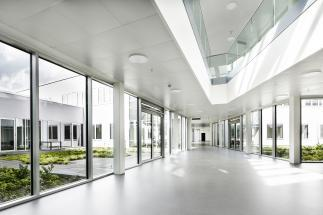Photo of Aabenraa Psychiatric Hospital by White architects. Photo credit: Adam Mørk
