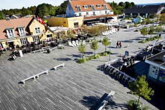 Photo of Marielyst Square and Beach Path by GHB Landscape Architects and ETN Arkitekter. Photo credit: GHB  Landscape Architects