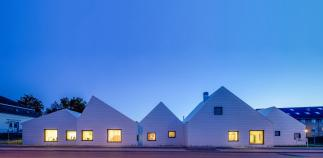 Photo of Livsrum Cancer Counselling Center by EFFEKT Architects. Photo credit: Quintin Lake.