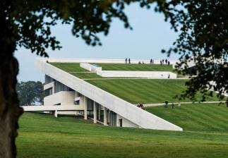 Photo of Moesgaard Museum by Henning Larsen Architects. Photo credit: Moesgaard Museum.