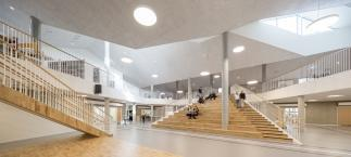 Photo of Skovbakke School by CEBRA Architecture. Photo credit: Adam Mørk