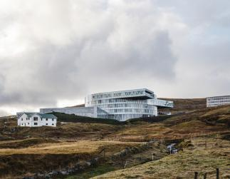 Photo of Glasir College, Thorshavn by BIG and Fuglark. Photo credit: Rasmus Hjortshøj