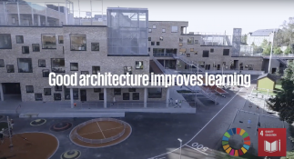 Video of architecture and learning