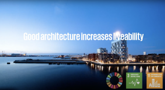 Video of architecture and liveability