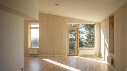 Photo of Housing on Lisbjerg Hill by Vandkunsten Architects. Photo credit: Helene Høyer Mikkelsen